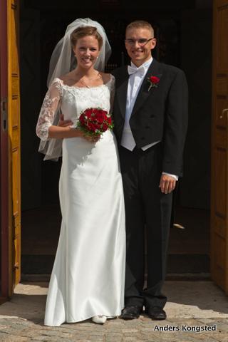 Jesper Laursen og Louise Grann Andersson viet 7. august 2010